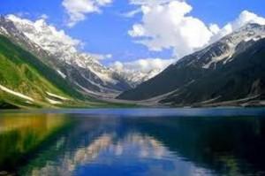 imagining a lake