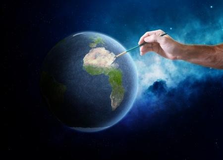 manifestation on earth