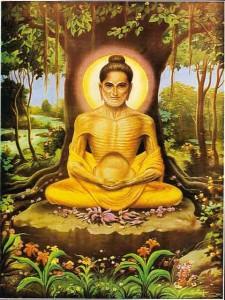 starved buddha