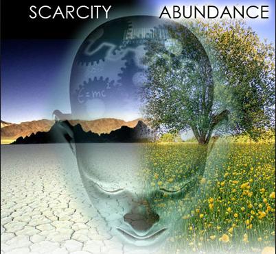 scarcity abundance mentality