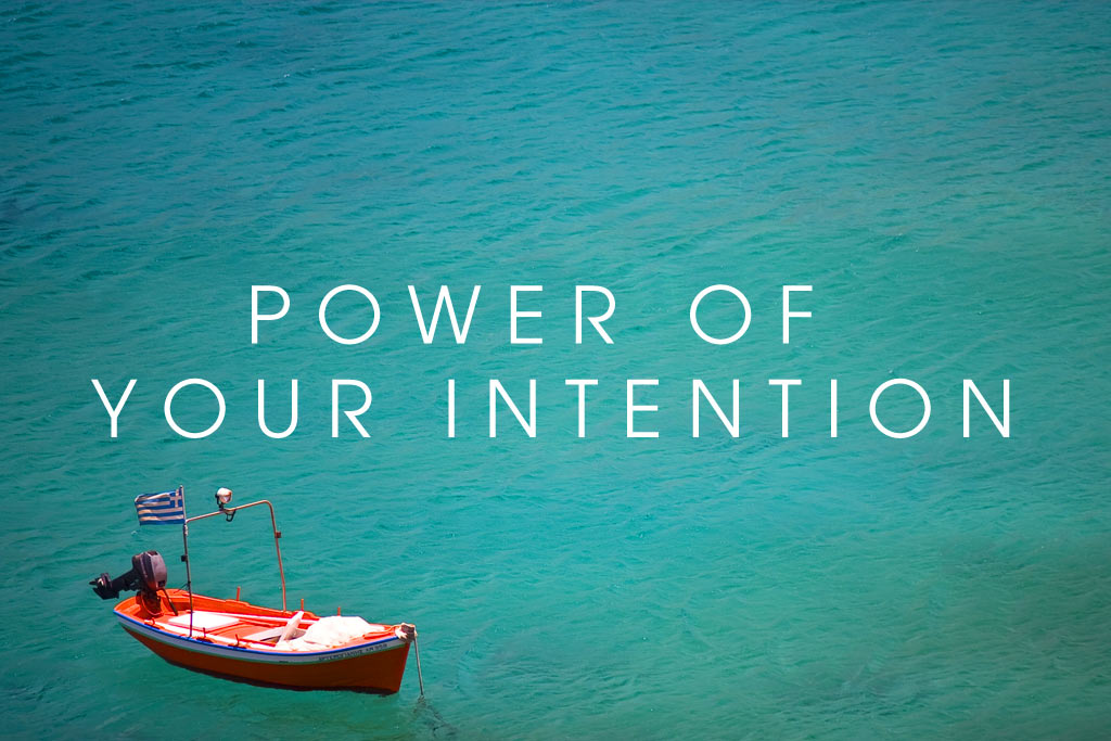 setting powerful intentions
